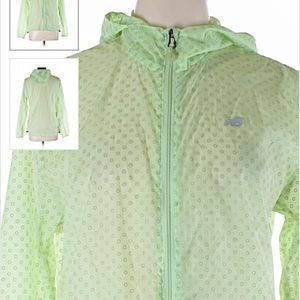 New Balance full zip hooded running jacket